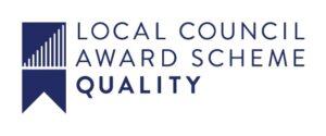 Quality Logo Blue