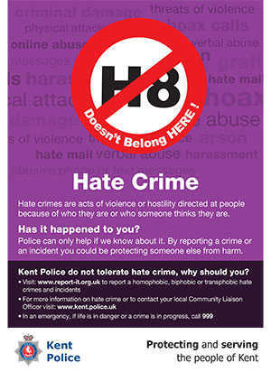 Kent Police - Hate Crime - Swanley Town Council