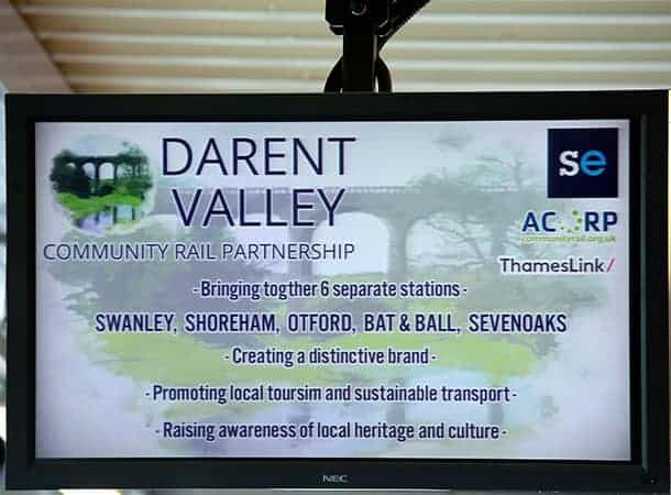 Community Rail Partnership sign