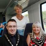 L-R-Deputy-Mayor-of-Swanley-Cllr-John-Barnes,-Cllr-Sue-Coleman-and-Mayor-of-Swanley,-Cllr-Lesley-Dyball