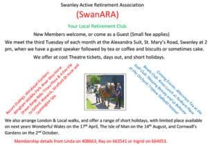 Swanley Active Retirement Association