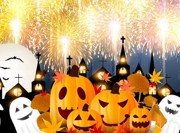Halloween-and-Fireworks