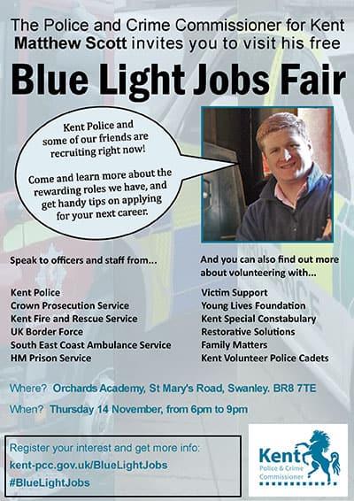 Blue Light jobs fair 2019