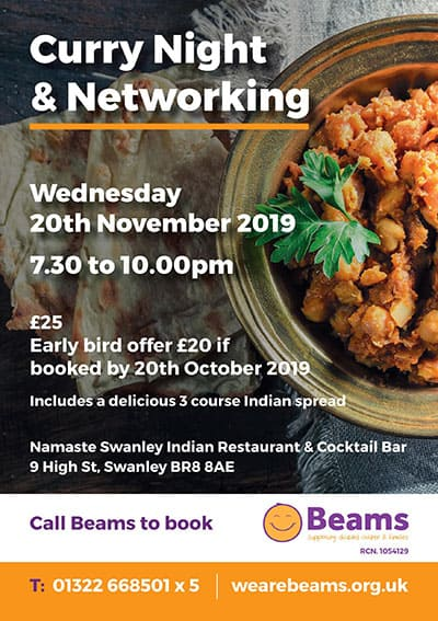 curry night and networking