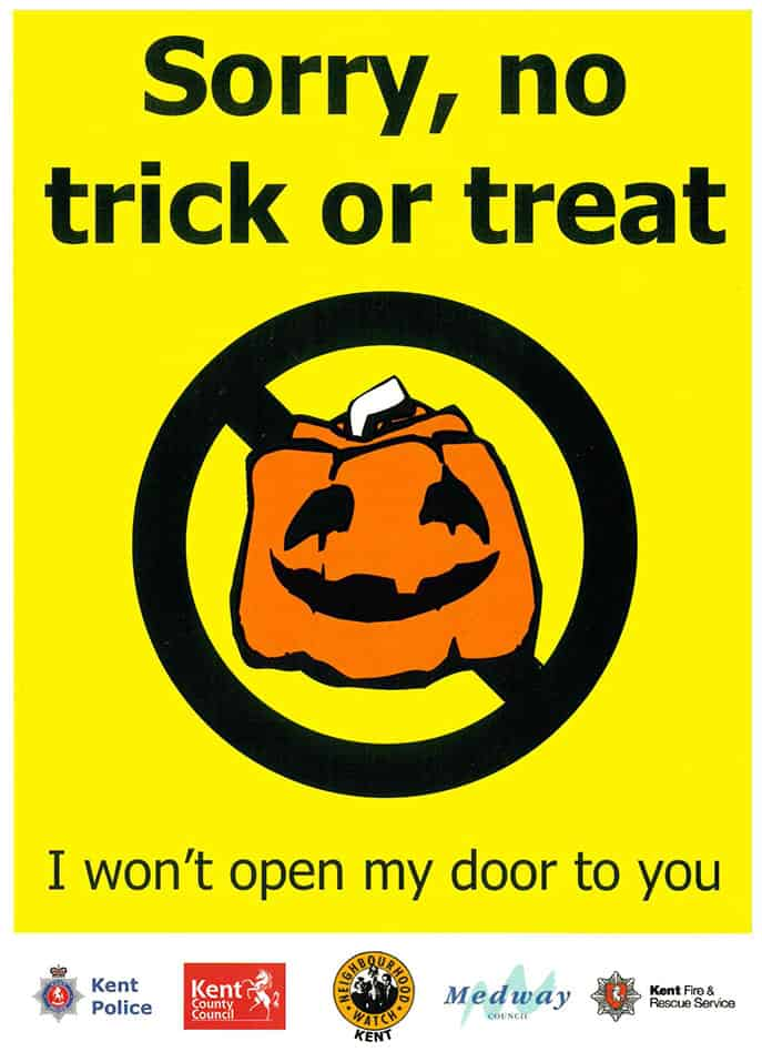 Sorry, No Trick or Treat
