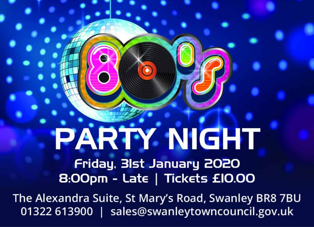 80's Party Night new