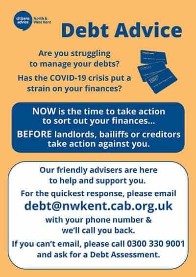 debt leaflet