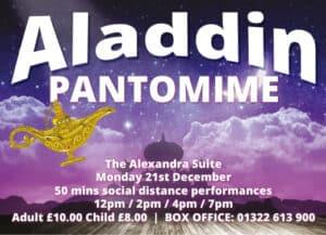 Aladdin Pantomime - 21st Dec 2020