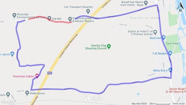 Clement Street Map