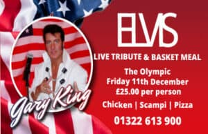 Elvis - tribute at The Olympic on 11 Dec 2020