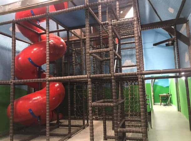Swanley Park Soft Play called The Barn