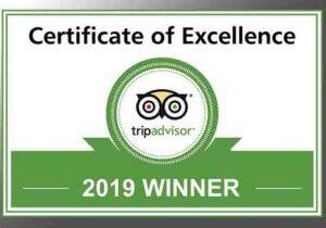 TripAdvisor® 2019 Winner